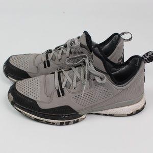 adidas Dame D Lillard basketball shoe gray black